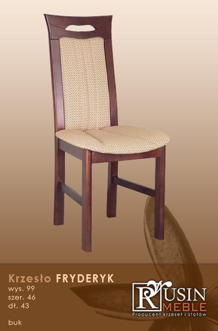 Деревянное кресло Fryderyk (Rusin Meble)