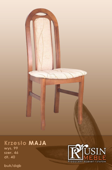 Деревянное кресло Maja (Rusin Meble)