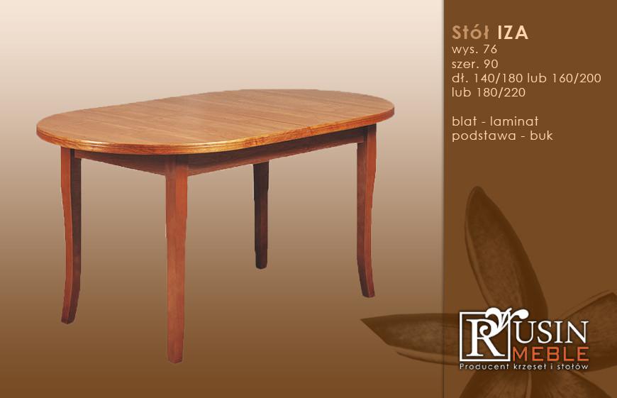 Стол деревянный Iza (Rusin Meble)