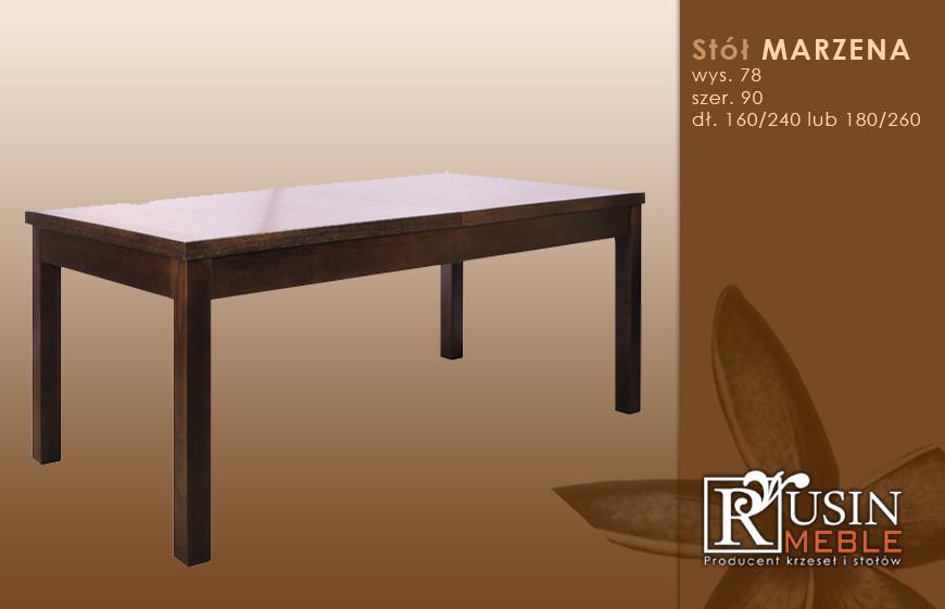 Стол деревянный Marzena (Rusin Meble)