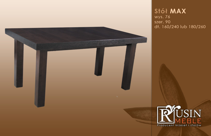 Стол деревянный Max (Rusin Meble)