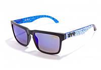 Солнцезащитные очки Spy+ Ken Block Helm blue_silver (Model № 21)
