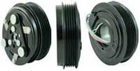 Шкив компрессора кондиционера в сборе SANDEN (Honda) 114mm/5pk 12V