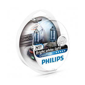 Philips Crystal Vision 4300K H11