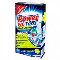 Таблетки для чистки и дезинфекции унитаза G&G Power WC-Tabs 4 шт