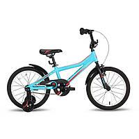Велосипед 18'' PRIDE RIDER сине-красный матовый 2016