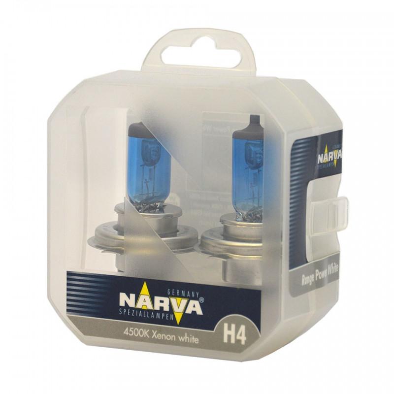 Narva Range Power White 4500k H4