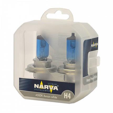 Narva Range Power White 4500k H4, фото 2