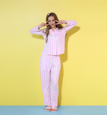 Розовая пижама в белый горох  продажа 8b3c9c51361da
