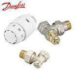 """Комплект для подключения радиаторов угловой 1/2"""" DANFOSS RA-N + RAS - C2 + RLV - S с прокладками"""