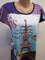 Женские футболки с рисунком.