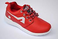 Кроссовки для девочки красные   (р 30-35)