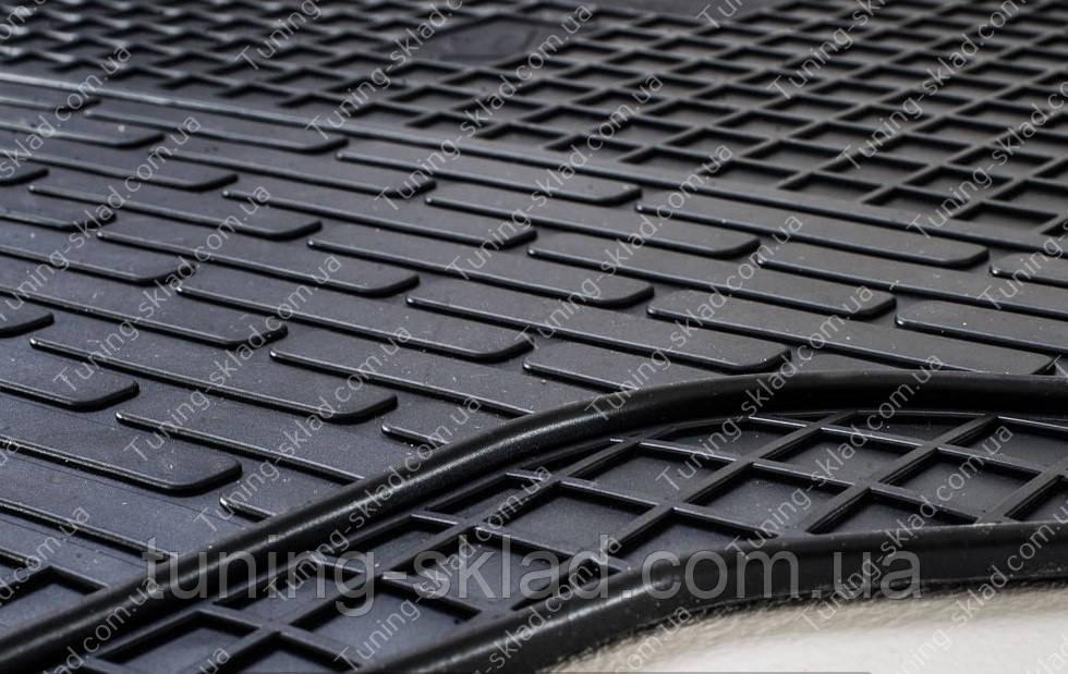 Резиновые коврики Ситроен Джампи 2 (2 шт, в салон)