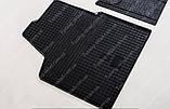 Резиновые коврики Ситроен Джампи 2 (2 шт, в салон), фото 2
