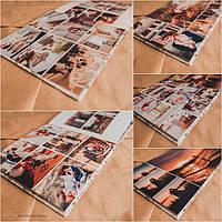 Свадебная фотокнига c фотообложкой на 10 разворотов 370 грн (23х23 см) серии EconomВook