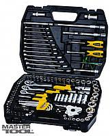 Набор ключей и насадок торцевых 121 шт в кейсе