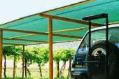 Сетка для защиты строительных лесов затенение 70% 2х5 м ЯМАЙКА (Италия)