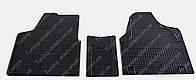 Коврики в салон Ситроен Джампи 2 (комплект резиновых ковров 3 шт. на Citroen Jumpy 2)