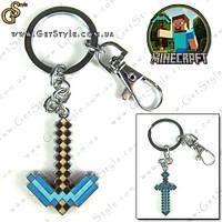 """Брелок для ключів - """"Minecraft Pick"""", фото 1"""