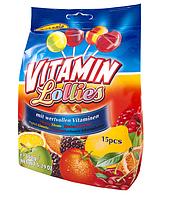 Леденцы на палочке Vitamin  mix Woogie, 150 г (15x10г)