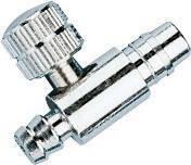 Металлический воздушный игольчатый клапан на грушу для механического тонометра