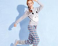 Хлопковая, приятная, женская пижама