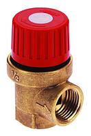 """Клапан предохранительный для котлов отопления  1/2""""  3.5 bar ICMA"""