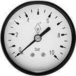 Манометр давления воды  10 бар горизонтальный