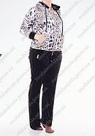 Красивый женский спортивный костюм (р.56-62) Турция