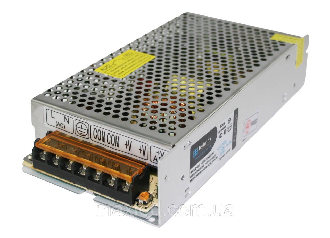 БЖ 12В 200Вт LEDMAX PS-200-12E