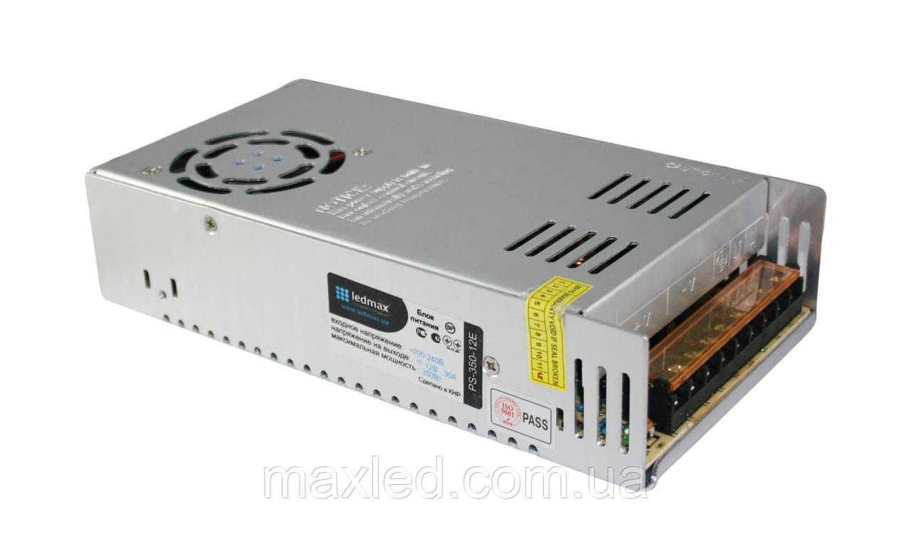 БП 12В 350Вт LEDMAX PS-350-12E