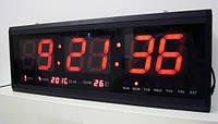 Настенные электронные часы LED Clock JH-4622, часы,календарь, термометр