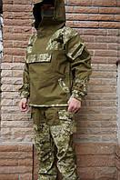 Костюм военный горка 4  Барс олива+пиксель