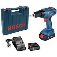 Аккумуляторный шуруповерт Bosch GSR 1800-LI, 06019A8305
