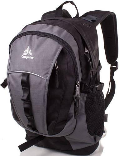 Стильный мужской рюкзак от торговой марки Onepolar (Ванполар) W1300-grey серый
