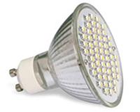 Лампа светодиодная 60LED GU10 3000K 4W