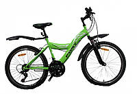 """Fort P2 24"""" велосипед подростковый зеленый, фото 1"""