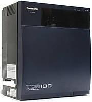 Цифровая гибридная IP-АТС Panasonic KX-TDA100, без плат расширения