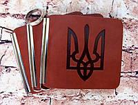 Зажим для купюр Герб Цвет кирпичный, фото 1