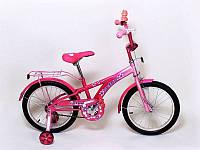 """Велосипед  для девочки розовый  Veloz 18"""""""