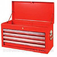 Ящик для инструмента 4 секции 660Lx313Wx377Hmm TORIN TBT6904-X