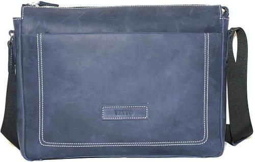 Мужская замечательная сумка из натуральной кожи VATTO MK33Kr600 синий