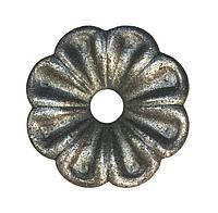 Цветок кованый 60х10х3