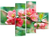 Модульная картина 338 ветка с цветами