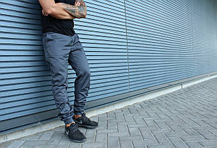 Штаны HLGN, стильные, модные (серые), фото 3