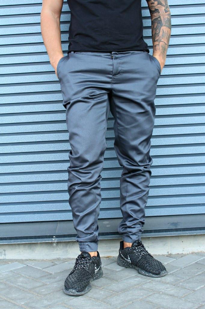 Штаны HLGN, стильные, модные (серые)