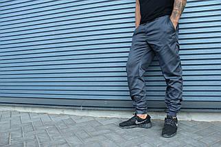 Штаны HLGN, стильные, модные (серые), фото 2