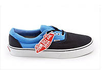 "Кеды Vans Era ""Black Blue"" (Копия ААА+), фото 1"