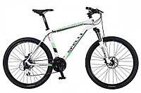 "Велосипед Spelli FX-7000 Disk 26"" бело-зеленый"