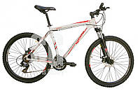 """Велосипед горный Mascotte Status MD 26"""" белый, фото 1"""